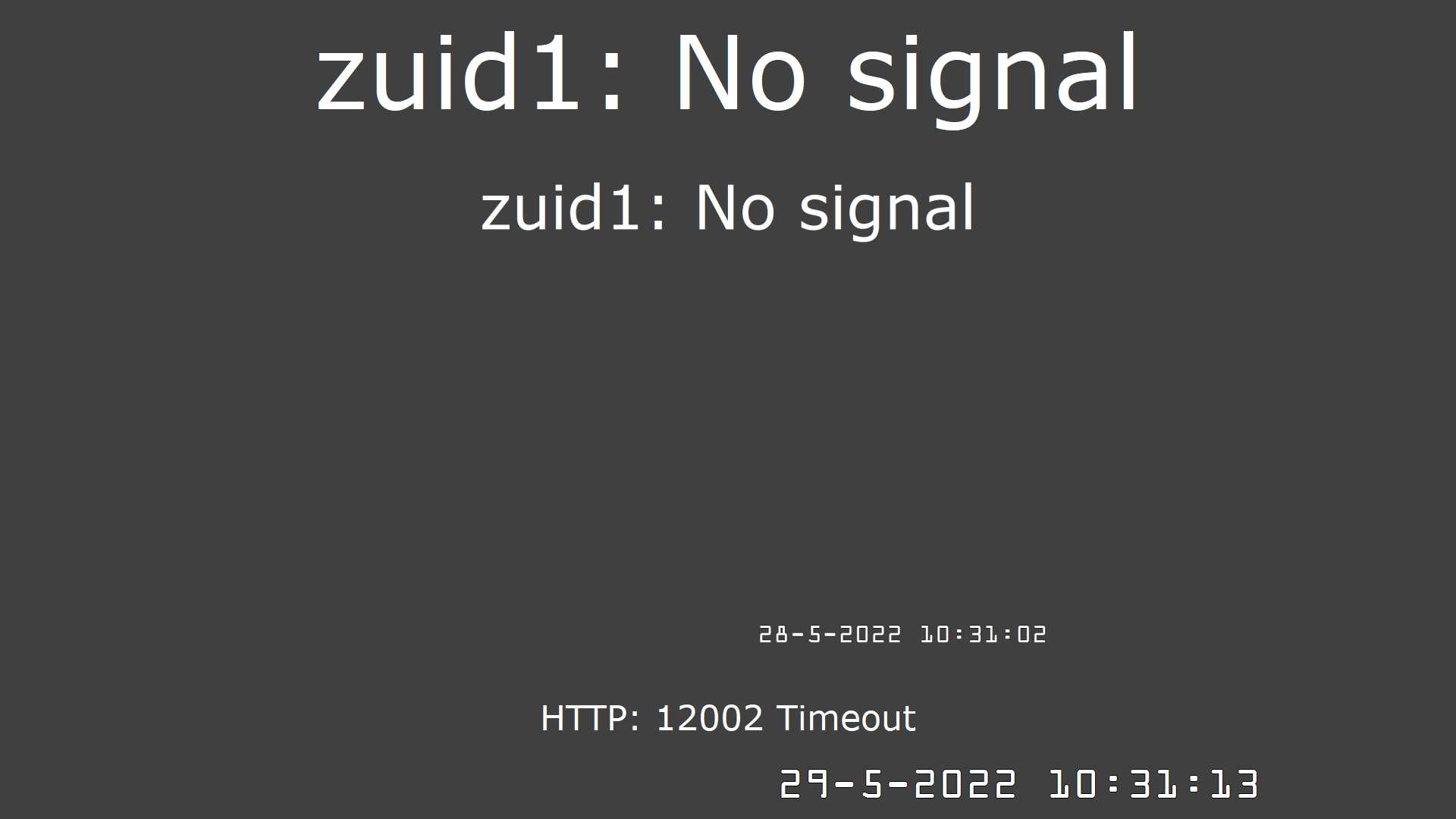 Webcam zuid